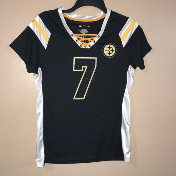 9f49bd9b7 Pittsburgh Steelers Women s Roethlisberger Jersey.  M 5b7f2df31537958b379eb248